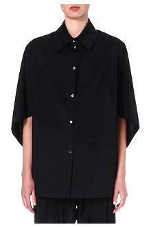 ANGLOMANIA Oversized wide-sleeve shirt