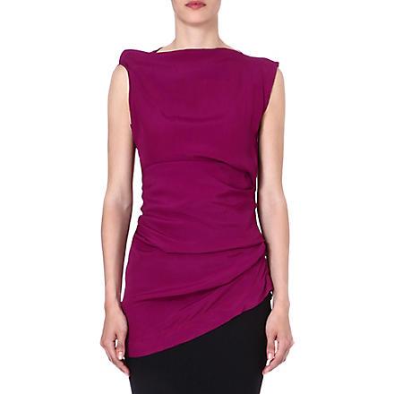 ANGLOMANIA Taxa sleeveless top (Purple