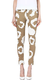 ANGLOMANIA Printed trousers