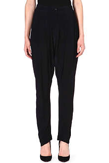 ANGLOMANIA Void crepe trousers