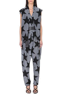 ANGLOMANIA Discovery star-print jumpsuit