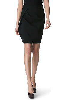 ANGLOMANIA Justice stretch-twill skirt