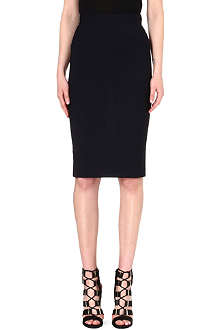 ANGLOMANIA Basic wool-blend pencil skirt