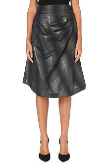 ANGLOMANIA Survival metallic skirt