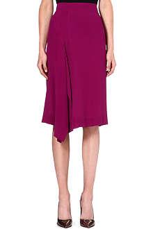 ANGLOMANIA Solstice crepe skirt