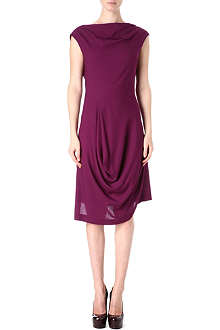 ANGLOMANIA A prophecy sleeveless draped dress