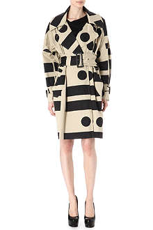 ANGLOMANIA Geometric printed coat