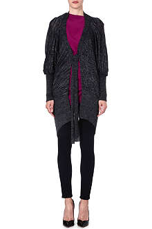 ANGLOMANIA Atmos draped cardigan