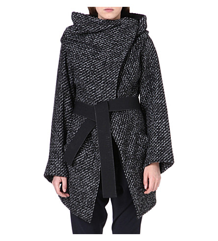 ANGLOMANIA Wool-blend coat (Black