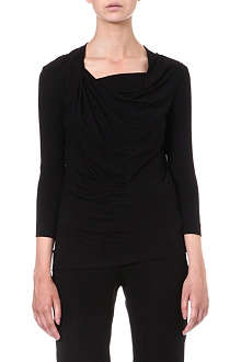 ANGLOMANIA Fracture draped top