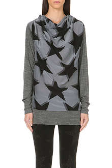 ANGLOMANIA Glacier star-print top