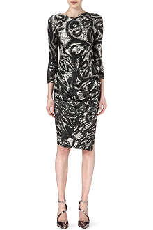 ANGLOMANIA Printed jersey dress