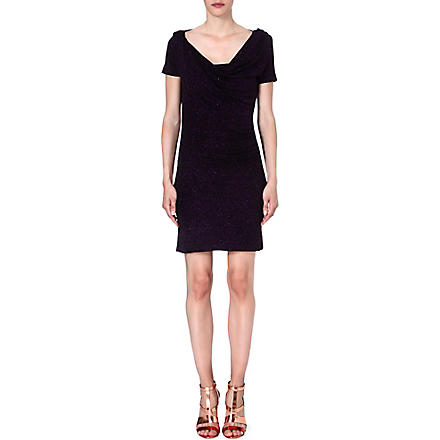 ANGLOMANIA Loxo flecked dress (Purple