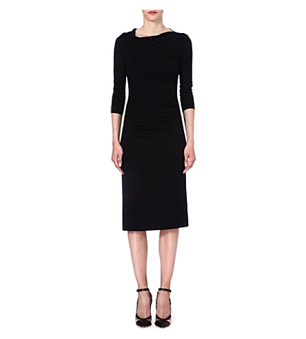 ANGLOMANIA Taxa jersey dress (Black