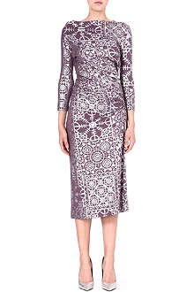 ANGLOMANIA Taxa printed jersey dress