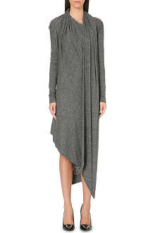 ANGLOMANIA Arro drape jersey dress
