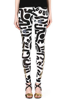 ANGLOMANIA Printed leggings