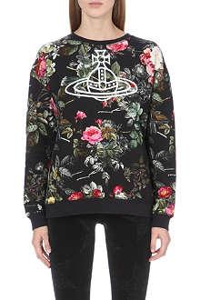ANGLOMANIA Floral-print sweatshirt