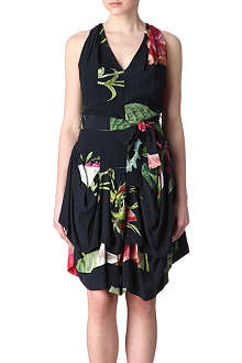 ANGLOMANIA Floral gladiator dress