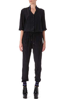 ANGLOMANIA Explorer silk jumpsuit