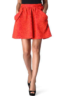 ANGLOMANIA Lace overlay skirt