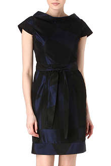 ANGLOMANIA Torch taffeta dress