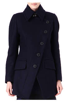 ANGLOMANIA Cloud wool-blend coat