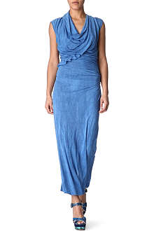 ANGLOMANIA Cliff maxi wrap dress