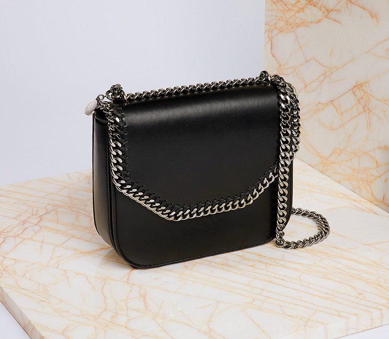 860f50a5fa3da STELLA MCCARTNEY faux leather shoulder bag