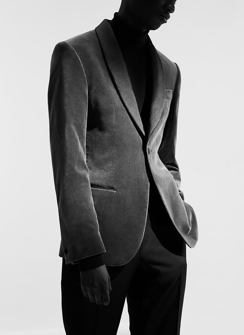 Hardy Amies velvet jacket