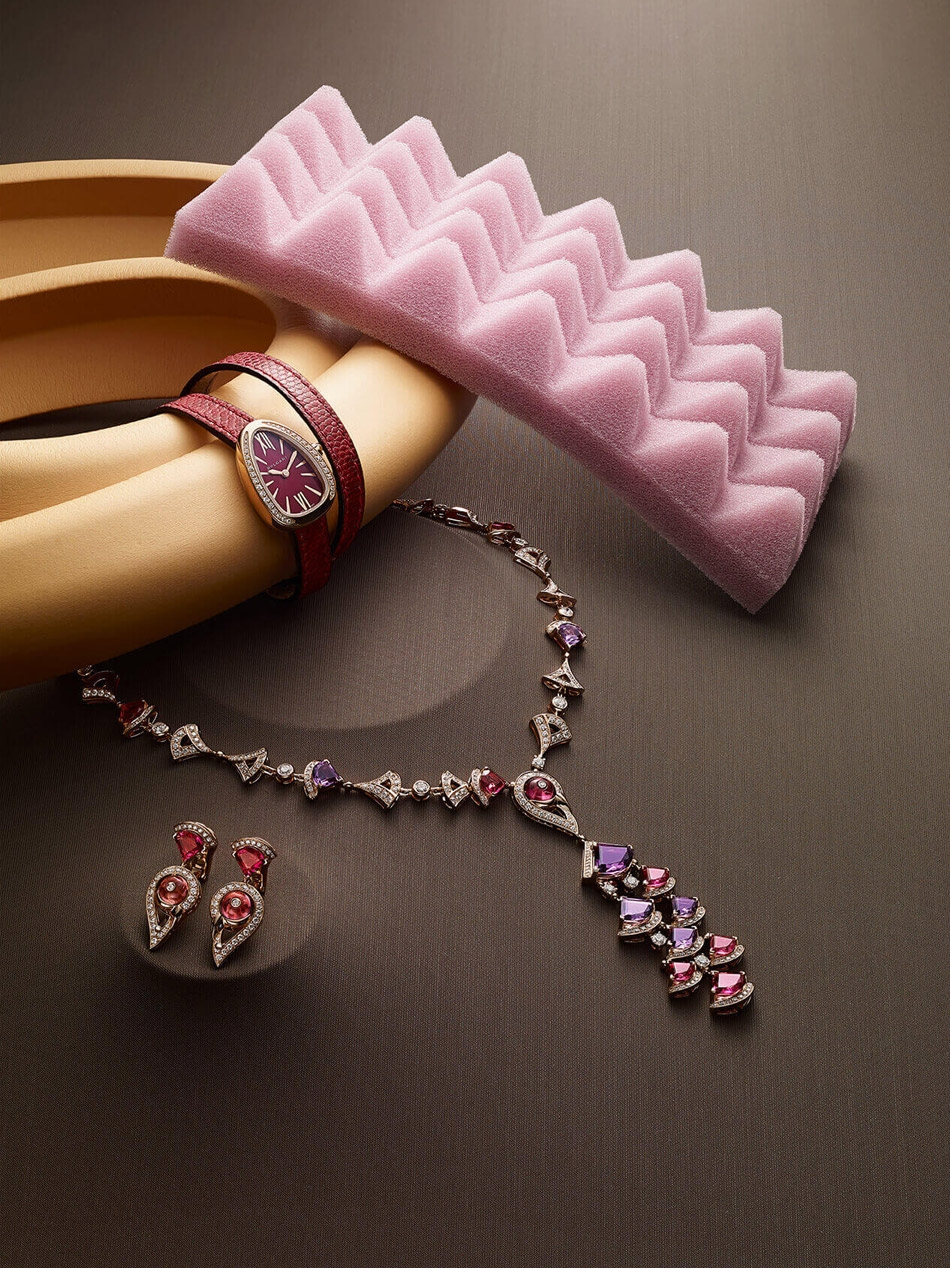 A collection of Bulgari jewellery