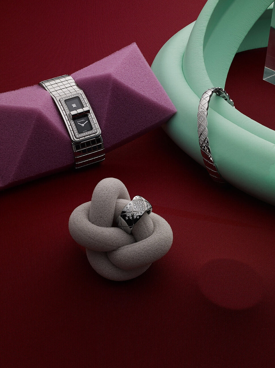 A collection of Chanel jewellery