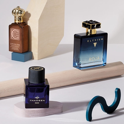 Luxury fragrances from Clive Christian, Thameen and Roja