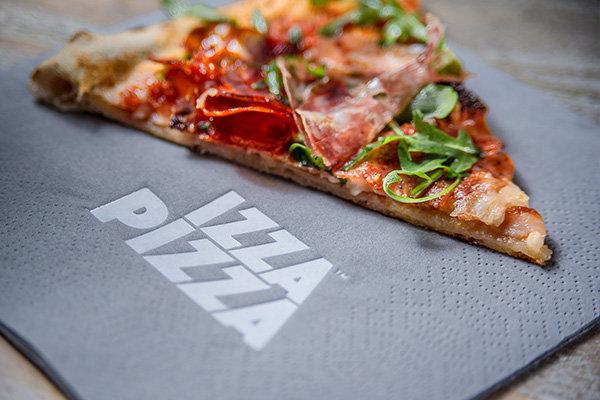Izza sourdough pizza
