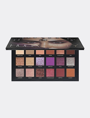 A beauty make-up palette