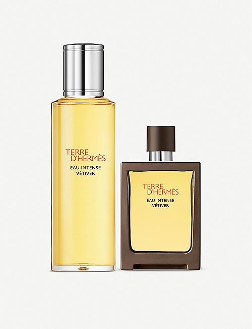 HERMES Terre d'Hermès Eau Intense Vétiver gift set