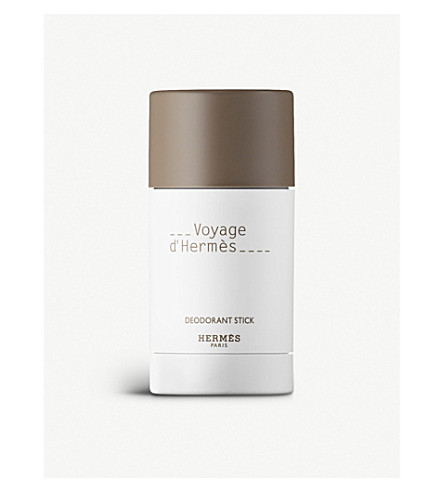 HERMES Voyage d'Hermès alcohol-free deodorant stick 75ml