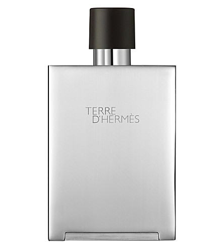 HERMES Terre D'Hermes metal refillable natural spray 150ml