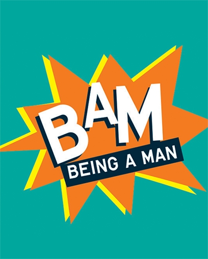 The Being a Man graphic