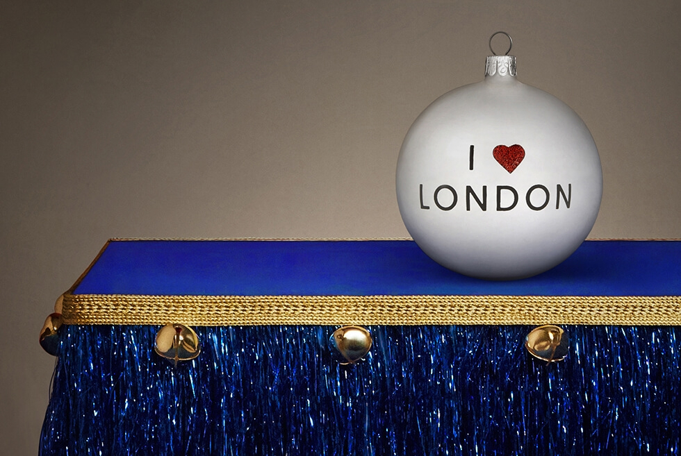 I Love London bauble