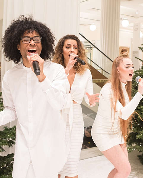 Selfridges Christmas Choirs