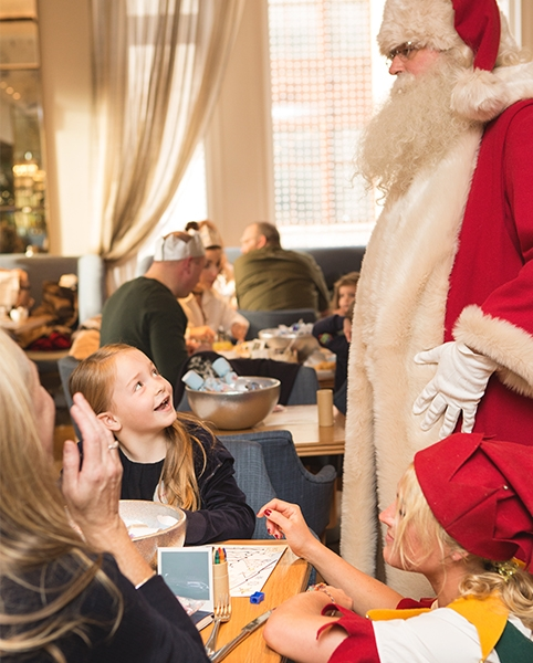 Breakfast with Santa Selfridges London