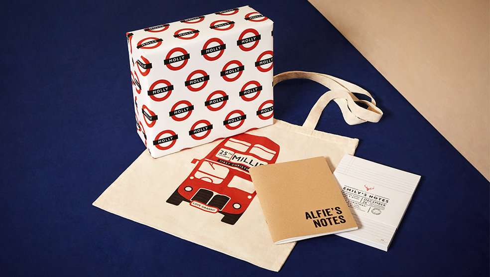 Selfridges loves personalised gifts christmas special stationery negle Choice Image