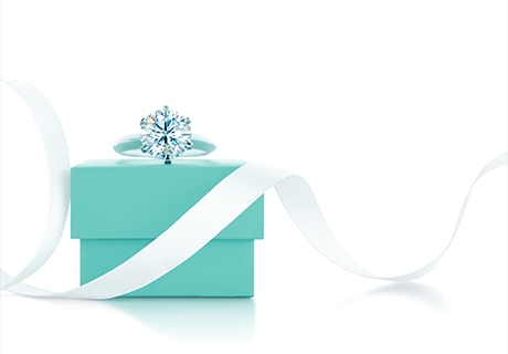 Tiffany & Co. ring and gift box