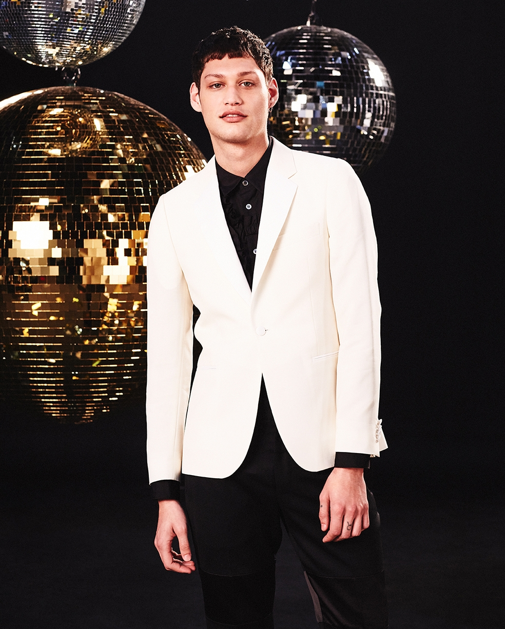 White tuxedo Paul Smith