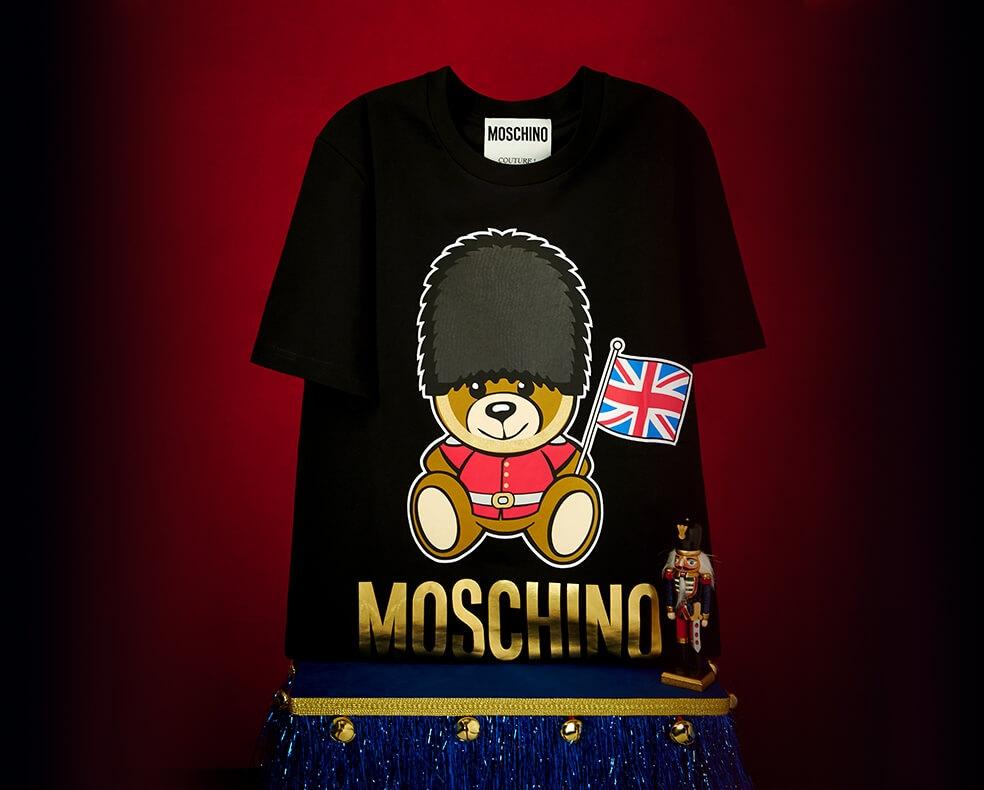 A Moschino London bear T-shirt