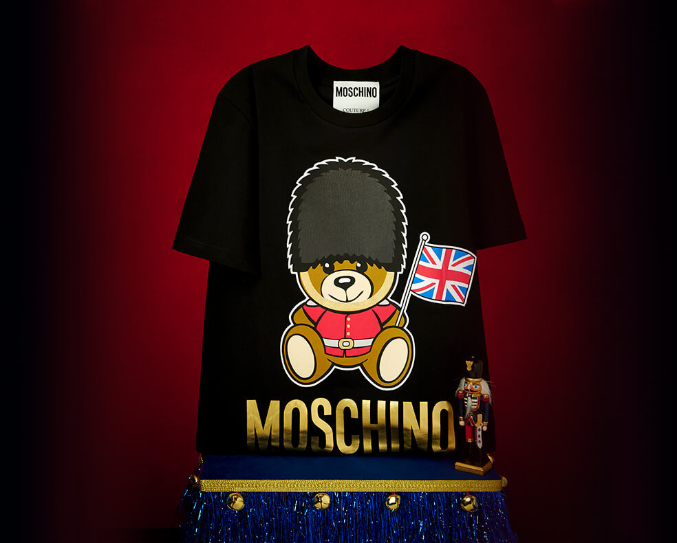 Selfridges loves our top ten exclusive gifts selfridges a moschino london bear t shirt negle Image collections