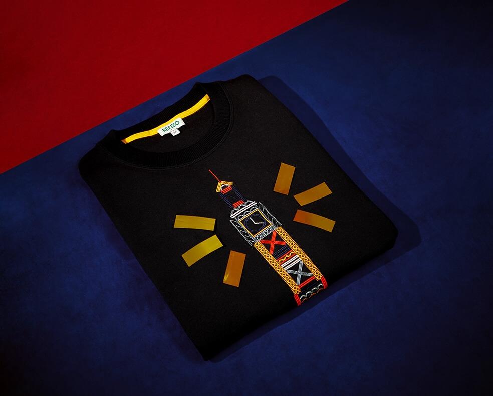 Kenzo Big Ben sweatshirt