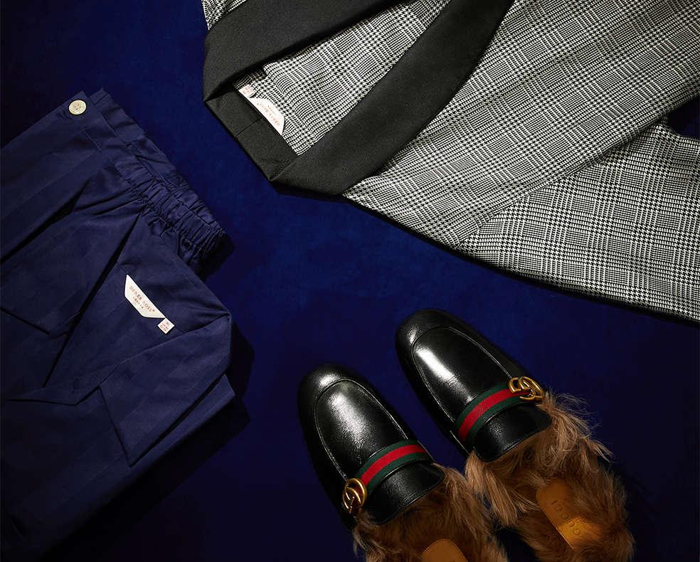 Men's designer loungewear