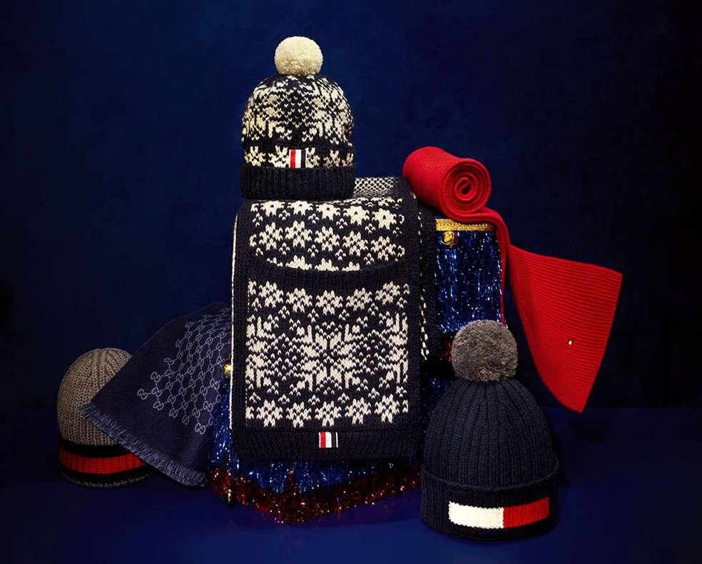 Men's designer winter accessories